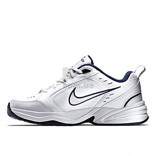 Air Monarch White Navy 415445-102